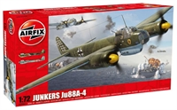 Airfix A03007 Junkers Ju88 A-4 with Luftwaffe marking transfers