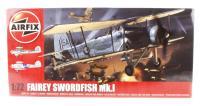 Airfix A04053 Fairey Swordfish MkI with Royal Navy FAA marking transfers