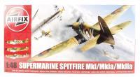 Airfix A05115A Supermarine Spitfire MkI/MkIa/MkIIa with RAF marking transfers