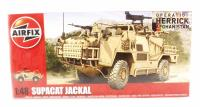 Airfix A05301 Supacat HMT400 Jackal with British Army and RAF Regiment marking transfers