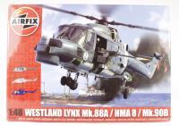 Airfix A10107 Westland Lynx Navy HAMA8/Super Lynx with RNAS, Federal German Navy and Danish Air service marking transfers