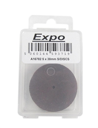 Expo Drills & Tools A16782 5 X 38MM Slitting Discs In Box
