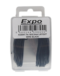 Expo Drills & Tools A22041 7m Pack Of 16/0.2mm Cable black