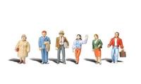 Woodland Scenics A2730 6 general public figures