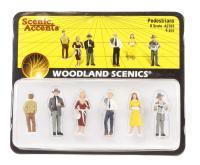 Woodland Scenics A2763 Pedestrians x 6