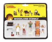 Woodland Scenics A2765 Backyard barbeque