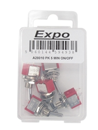 Expo Drills & Tools A28010 On/Off switches x 5