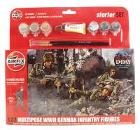 Airfix A55212 WWII U.S. Infantry Multipose Gift Set