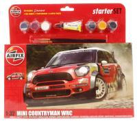 Airfix A55304 Mini Countryman WRC - New tool for 2013
