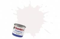 Humbrol AA1434 No.130 White - Satin - Tinlet No.1 (14ml)