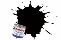Humbrol AA6392 No.201 Black - Metallic - Tinlet No.1 (14ml)