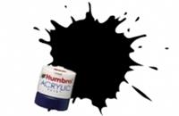Humbrol AB0085 No.85 Coal Black - Satin -12ml Acrylic