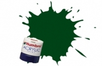Humbrol AB0163 No.163 Dark Green - Satin -12ml Acrylic