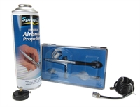 Expo Drills & Tools AB726 Gravity Feed Starter Airbrush Set