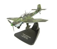 Oxford Diecast AC004 Junkers Ju-87B Stuka Stab III/StG 77 Caen, France 1940