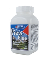 Deluxe Materials AD-61 View Glue - Fix Landscape Back Scene Papers In Place - 225ml