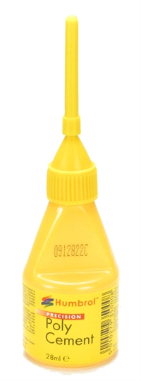 Humbrol AE2610 28ml Precision Poly Cement with needle applicator