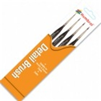 Humbrol AG4301 Brush pack - Triangle Handle
