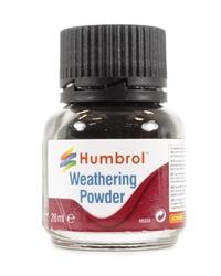 Humbrol AV0001 Weathering Powder 28ml - black
