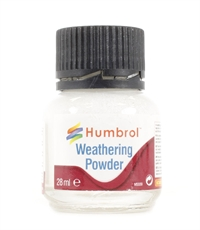 Humbrol AV0002 Weathering Powder 28ml - White