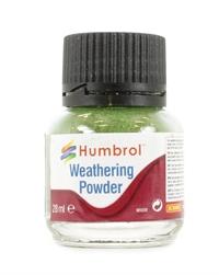 Humbrol AV0005 Weathering Powder 28ml - Chrome Oxide green
