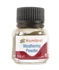 Humbrol AV0007 Weathering Powder 28ml - Dark Earth