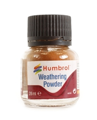 Humbrol AV0008 Weathering Powder 28ml - Rust