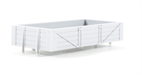 Dapol B005Dapol Unpainted wagon body - 4 plank