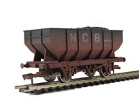 Dapol B1003W 21 ton hopper wagon in NCB livery - weathered