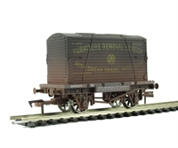 "Dapol 4F-037-004 Conflat wagon and container ""GWR"" - weathered (ex-B1006W)"