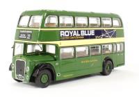 "Base Toys B106B Bristol Lodekka LD1 Closed Platform Long Radiator ""Western National No.1872"" (circa 1954-1969)"