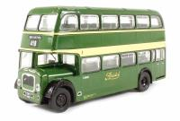 "Base Toys B108A Bristol Lodekka LD1 Closed Platform Short Radiator ""Bristol Omnibus Co."" 418 to Bristol (circa 1957-1972)"