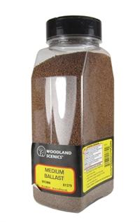 Woodland Scenics B1379 Ballast Shaker - Medium - Brown