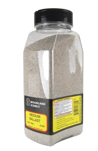 Woodland Scenics B1381 Ballast Shaker - Medium - Light Gray