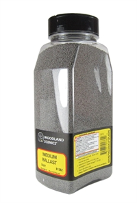 Woodland Scenics B1382 Ballast Shaker - Medium - Gray