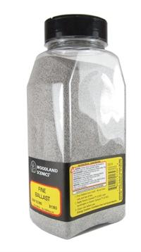 Woodland Scenics B1393 Ballast Shaker - Blend Fine - Gray