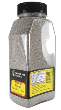 Woodland Scenics B1394 Ballast Shaker - Blend Medium -  Gray