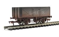Dapol B758aw 7 plank wagon LMS Grey #302078