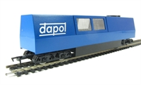 Dapol B800 Non-motorised OO Track Cleaner with motorised cleaning heads & vacuum in blue