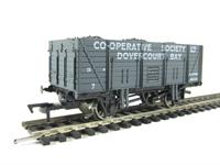 """Dapol B907 9 plank wagon """"Co-operative Society Dovercourt Bay"""""""