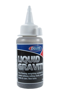 Deluxe Materials BD-38 Liquid Gravity - 240g - Easy flowing weighting system for railway rolling stock