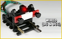 Proses BF-HO-02 HO/OO Scale Buffer Stop with Lights - DC, DCC, Wired