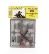 Proses BF-OO-06 OO Scale laser cut buffer stop kit with light
