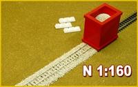 Proses BS-N-01 N Scale Ballast Spreader