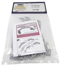 Dapol C004 Footbridge plastic kit