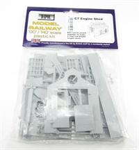 Dapol C007 Engine Shed plastic kit