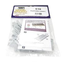 Dapol C010 Platform Canopy plastic kit