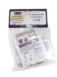 Dapol C011 Platelayers Hut, Coal Office & Water Crane plastic kit