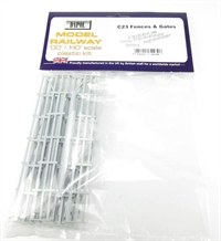 Dapol C023 Fences & Gates plastic kit