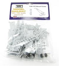 Dapol C028 15 Ton Diesel Crane plastic kit